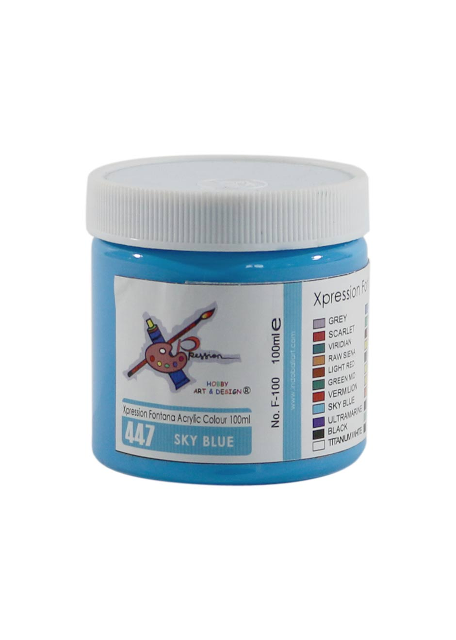 Maries-acrylic-Sky-Blue-100-ml