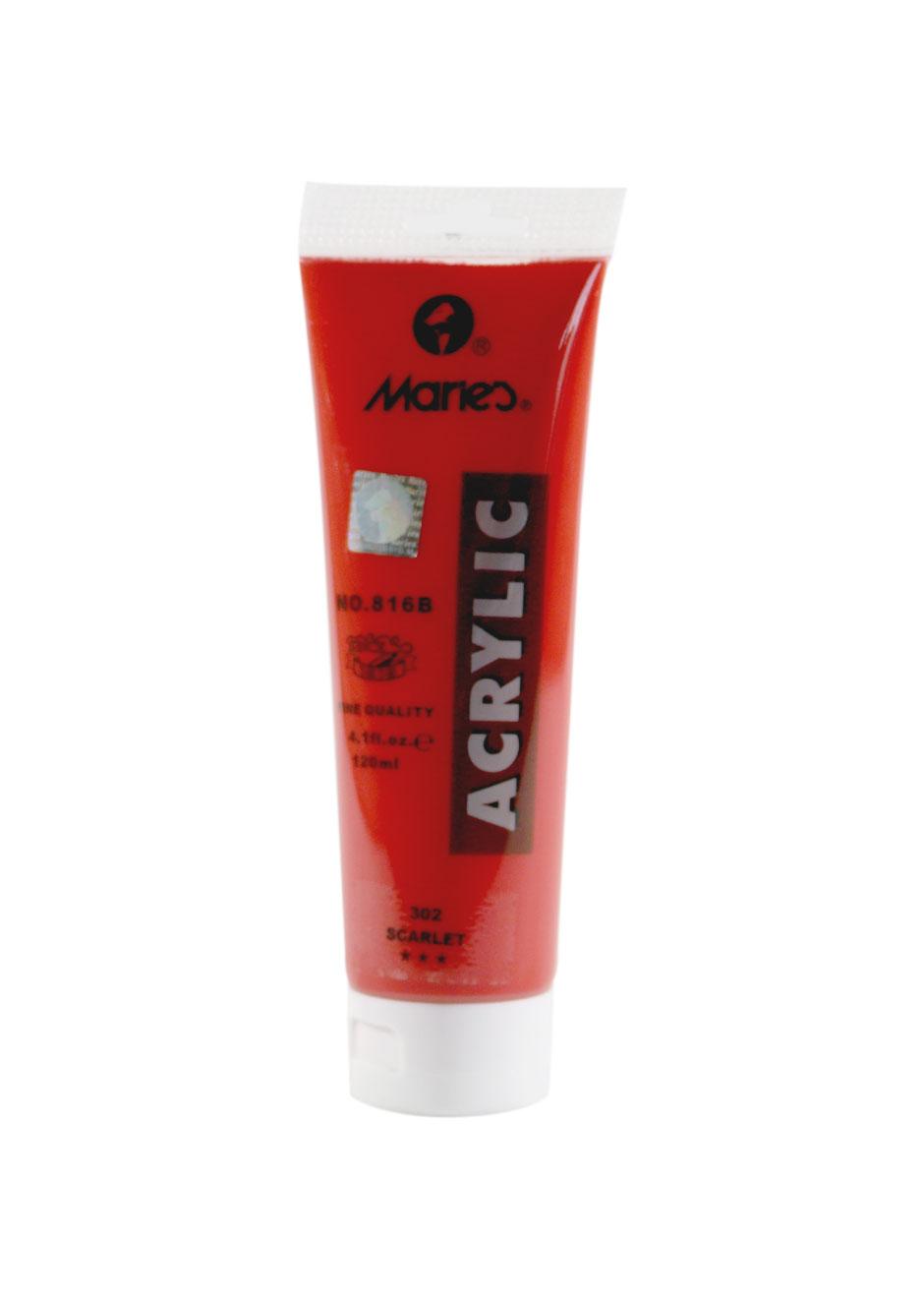 Maries-acrylic-scarlet-120-ml