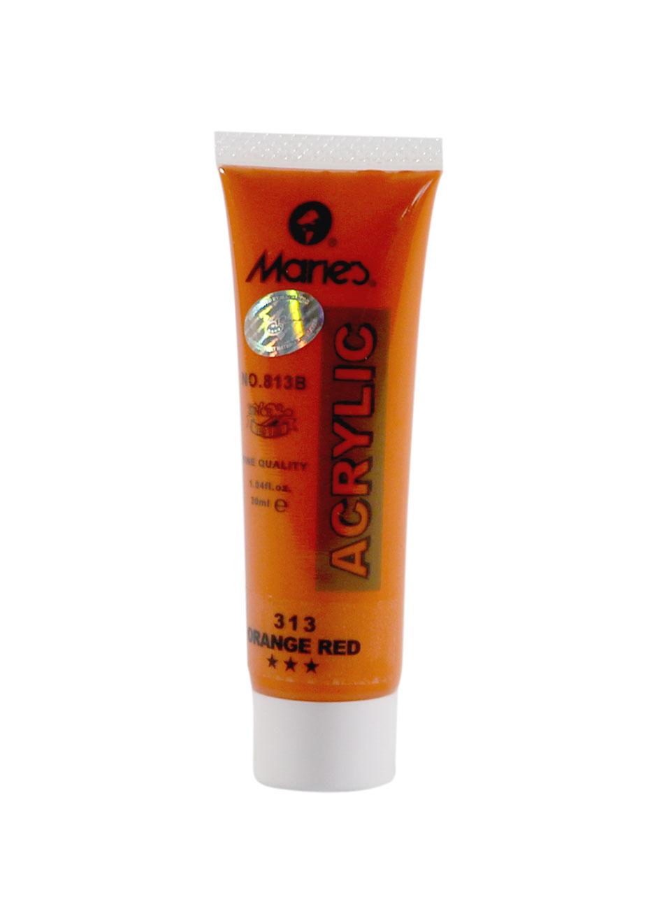 maries-acrylic-orange-red---30-ml