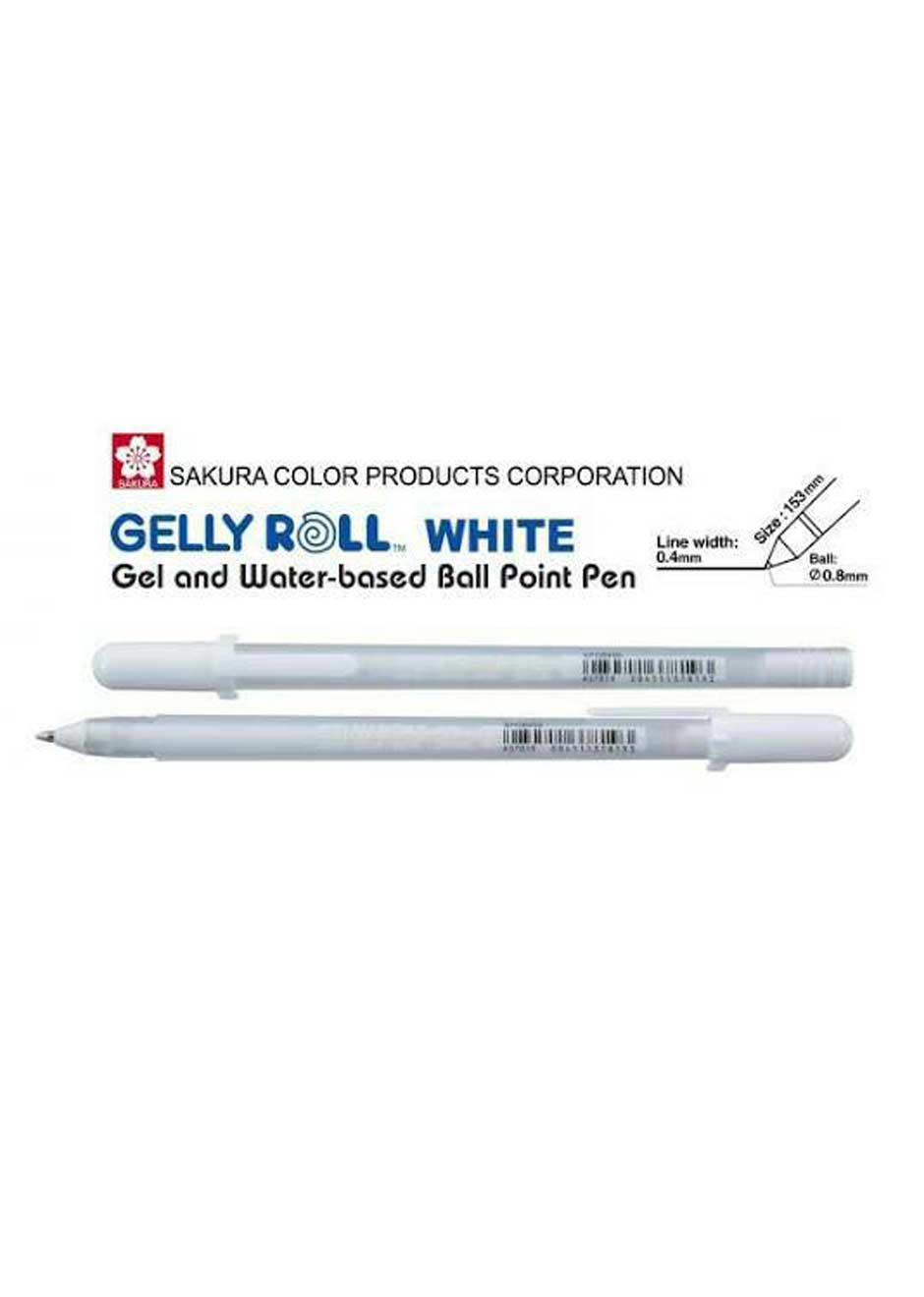 sakura-gelly-roll-white-pen